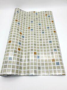 Rouleau Style Crédence Mosaïque Auto Adhésif 2m x 60 cm Décoration Maison