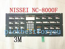 NEW For NISSEI NC8000F Membrane Keypad NEW NC-8000F T-710 #HB2 YD