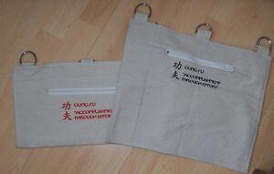Canvas Wall Bag Kung Fu Iron Palm Punch Bag Pad Wallbags Makiwara Alternative