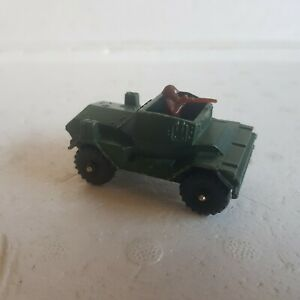 Vintage Corgi juniors army Daimler scout car armoured vehicle