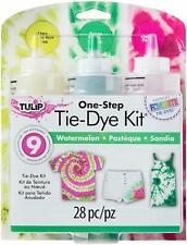Tulip One Step 3 Colour Dye Kit Watermelon Tie-Dye Fushia-Lemon- Lime