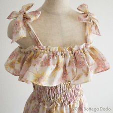 Twin Shoulder Bow Dress Sunflower LIZ LISA YUI KANNO Hime gyaru Lolita 109