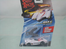 Speed Racer (Hot Wheels) Mach 6 with Saw Blades Movie Accessory included! 1:64
