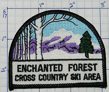 NEW MEXICO, ENCHANTED FOREST CROSS COUNTRY SKI RED RIVER TAOS SOUVENIR PATCH