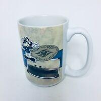 Disney Cruise Line Mug Souvenier Captain Mickey Classic Style Beige/Blu Thailand