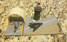 MICRO MACHINES Military Hangar and 2 Jets - Nighthawk F-117 & F-15 Fighter