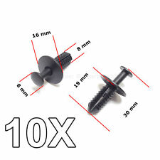 10X Wheel Arch Shell Expanding Rivets Fastening Clips for Mercedes
