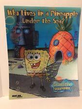 "See Video - SpongeBob Squarepants Lenticular 3D 16""x20"" Poster"