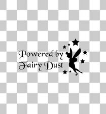 FAIRY DUST TINKERBELL DISNEY CAR VAN BUMPER WINDOW JDM DUB 4X4 STICKER DECAL
