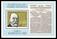 EBS East Germany DDR 1982 Goethe Schiller Michel Block 67 MNH**