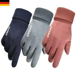 Winter Handschuhe Fahrradhandschuhe Thermo Winddicht Touchscreen Herren Damen