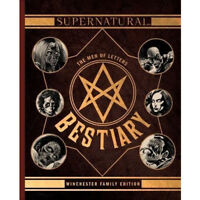 Supernatural  The Men of Letters Bestiary Winchester Family By Tim Waggoner NEW