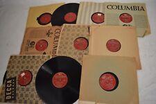 Frank Sinatra Columbia Record Vinyl 78 Lot 81 Albums 1940 1950