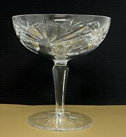 Gorham Cut Crystal Older Rosewood Tall Champagne Sherbet