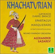 Aram Khachaturian: Sabre Dance from Gayaneh; Excerpts from Spartacus