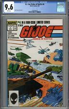G.I. Joe Order of Battle #4 CGC 9.6 NM+ WHITE PAGES