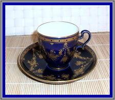 MANUFACTURE de SEVRES rare tasse à café '' Ovoïde'' 1876-1889