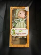 "Vintage Knickerbocker 9 1/2"" Tall Holly Hobbie Amy Doll In Original Box - Exc"