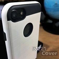 Resistente Funda Iphone 7 blanco compuesto de densidad ultra concepto protector de pantalla
