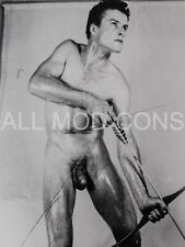 VTG 4 x 5 PHOTO PRINT MALE NUDE GAY INTEREST BEEFCAKE MUSCLE PHYSIQUE 92