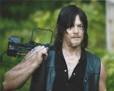 ACTOR NORMAN REEDUS SIGNED 'THE WALKING DEAD' 8x10 PHOTO 2 W/COA DARYL DIXON