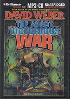 David Weber Short Victorious War MP3 CD Audio Book Unabridged Honor Harrington 3
