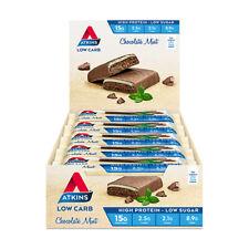 Atkins Advantage Chocolate MINT Bars 60g X 15