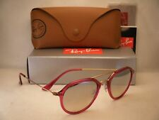 7d9924851e Ray Ban 4253 Shiny Fuxia w Grey Gradient Mirror Lens (RB4253 62359U 50mm  size)