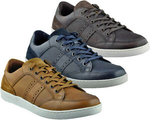 Mens Redtape Leather Casual Walking Trainers Smart Lace Up Driving Shoes Size
