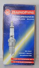 AC DELCO RAPIDFIRE #6 SPARK PLUGS (Set of 4) NOS #25164644 Free Shipping