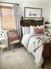 Stone Cottage Asher Duvet Cover Set Full/Queen Grey