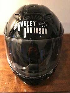 XXL size Pre-owned Harley Davidson Helmet with Harley nylon bag slack
