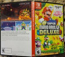 *Authentic* New Super Mario Bros. U Deluxe Nintendo Switch