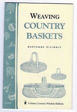 Storey Country Wisdom A159, Weaving Country Baskets, Maryanne Gillooly - Booklet