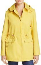 ba50e3196f83 Kate Spade Women s Yellow Rain Anorak Coat Hooded Jacket