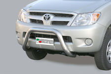 "Toyota Hilux mk3 2006-2011 Ø76mm BULL BAR NUDGE BAR ""CE APPROVED"" Frontbügel"
