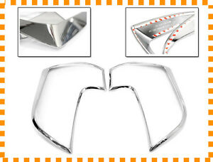 Chrome Rear Lamp Cover Molding Garnish 2p For 11-15 Kia New Picanto : Morning