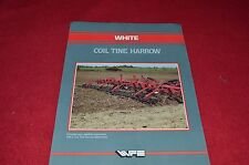 White Tractor Coil Tine Harrow Dealers Brochure GDSD