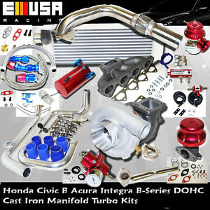 Precision 5431 Turbo Kit B for 97-01  B16B18 Type R JDM 1.6L DOHC VTEC I-4 185HP