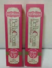 2 Tubes New MustUp BREAST ENLARGEMENT Bust Firming Cream Pueraria Mirifica100g