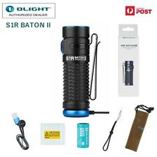 New Olight S1R Baton II rechargeable 1000 lumen CREE LED pocket torch with batt