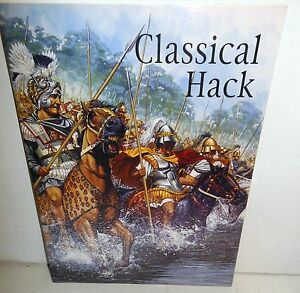 MINIATURE WARGAME RULES Classical Hack Ancient Warfare 600BC-600AD by P Viverito