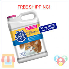 Cats Pride Cat Litter Scoopable, Scented Lightweight Clumping Litter, Flusha …