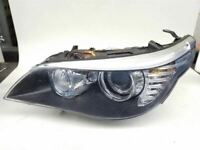 Driver Headlight Xenon HID With Adaptive Headlamps Fits 08-10 BMW 528i 437194
