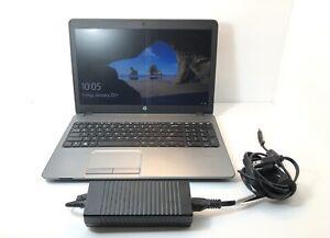 HP ProBook 450 G1 Intel Core i3-4000M 2.40GHz 4GB RAM 500GB HDD Win10 w/Charger