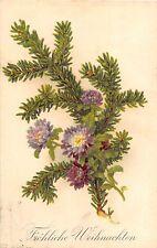 BG4493  fir branch flower chirstmas weihnachten    germany  greetings