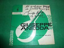 GIUSEPPE ANEDDA - MANDOLINO SOLISTA autografato