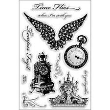 Stampendous Perfectly Clear 'Time Flies' Stamps
