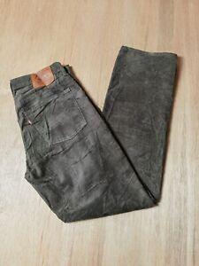 Vintage Levi's 702 Brown Corduroy Size W30 L32 Jeans Trouser Pants