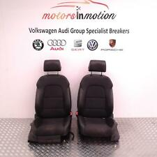 AUDI A3 CADDY Pair Of Half Leather S Line Front Seats 04 - 16